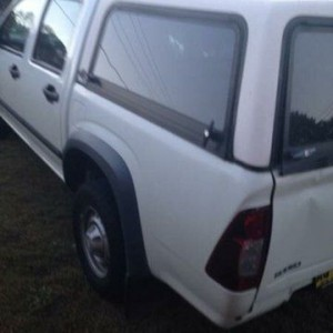 2007 Holden Rodeo RA MY07 LX White 4 Speed Automatic Crew Cab P/Up $6,995.00