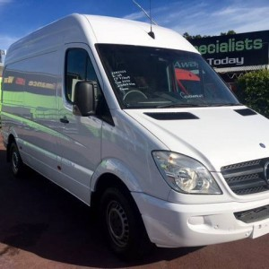 09 Mercedes-Benz Sprinter 311 CDI Hi/Roof