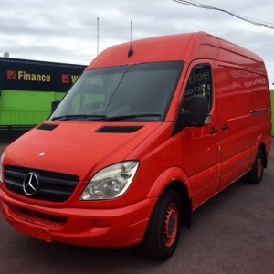 08 Mercedes-Benz Sprinter 311 CDI Hi/Roof