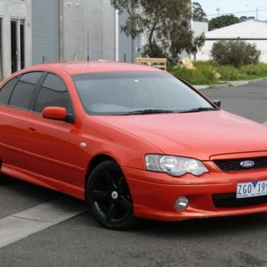 2005 FORD FALCON XR6 SEDAN