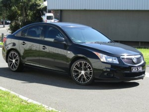 2011 HOLDEN CRUZE CD SEDAN