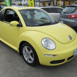 2006 VOLKSWAGON BEETLE COUPE Manual 4 cyl 2WD