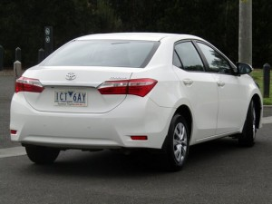 TOYOTA COROLLA ASCENT S-CVT SEDAN