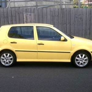 2001 VOLKSWAGEN POLO HATCH (FOUR CYLINDER MANUAL)