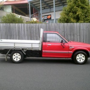 1996 FORD COURIER 4X2 FLAT TRAY