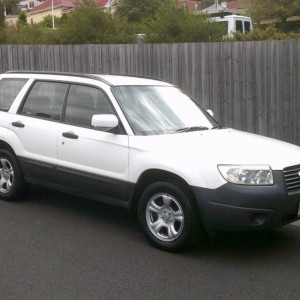 2006 SUBARU FORESTER UPDATE (FOUR CYLINDER AWD)