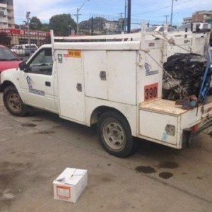 2002 Holden Rodeo TFR9 MY02 LX (4×4) White 5 Speed Manual Cab Chassis