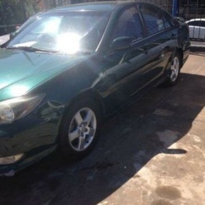 2003 Toyota Camry Sportivo Green 4 Speed Automatic Sedan