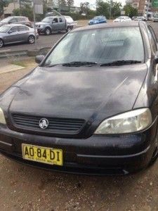 1999 Holden Astra TS City Black 4 Speed Automatic Hatchback