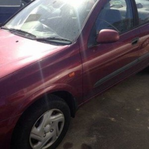 2001 Nissan Pulsar N16 LX Burgundy 4 Speed Automatic Sedan