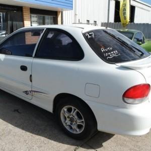 2000 Hyundai Excel GX Hatchback