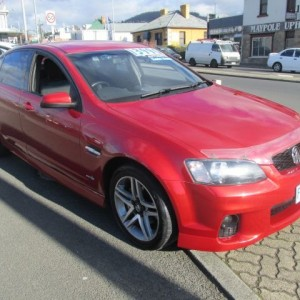 2011 HOLDEN COMMODORE VE SV6 SEDAN Auto 6 cyl 2WD