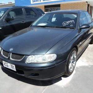 2001 Holden Commodore Acclaim Sedan