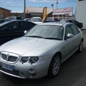 2003 M.G. ZT Sedan