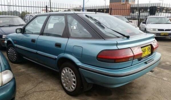 1994 Toyota Corolla AE94 CSI LTD Seca Blue 4 Speed Automatic Liftback