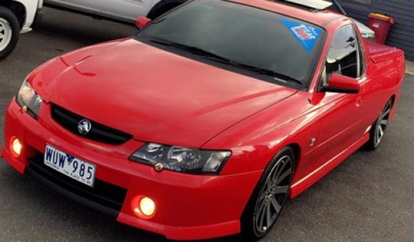 2005 Holden COMMODORE SS utility, 5.7ltr v8 6speed manual travelled 120000 kms, $16990