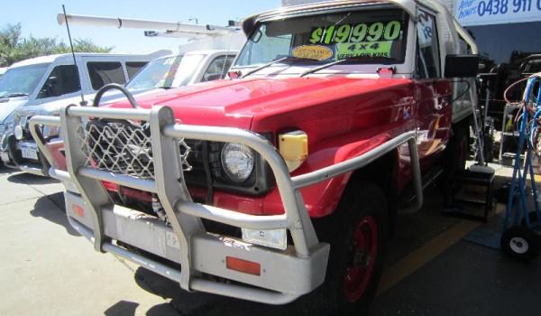 1999 Toyota Landcruiser Fire Tender 4.2 Diesel