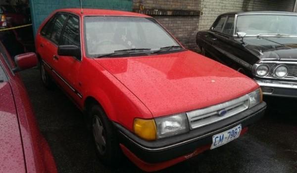 1987 Ford Laser GL Hatchback