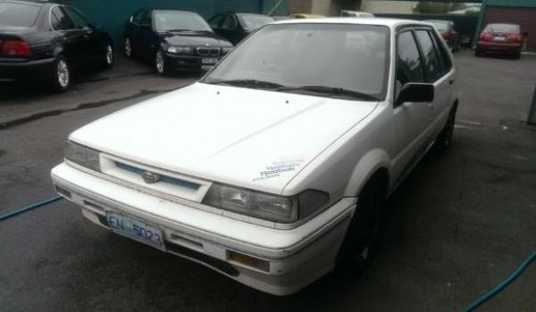 1990 Nissan Pulsar Reebok Hatchback