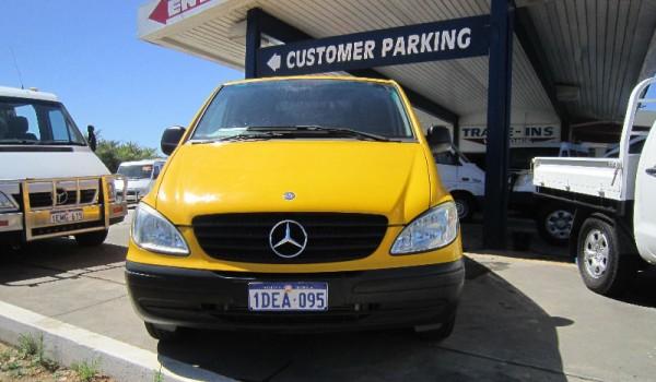 2009 Mercedes-Benz Vito 115 CDI Yellow