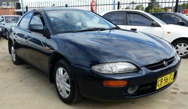 1997 Mazda 323 Astina Blue 4 Speed Automatic Hardtop