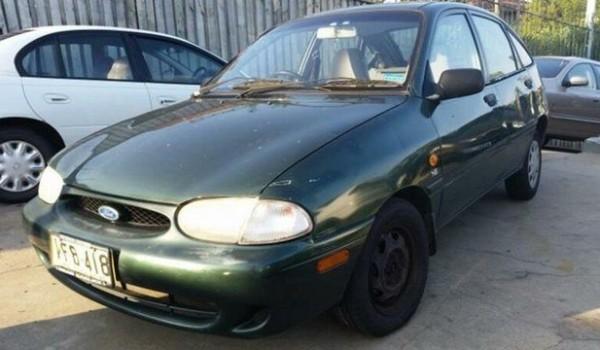 1998 Ford Festiva WF Glxi Green 4 Speed Automatic Hatchback