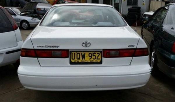 1997 Toyota Camry SXV20R CSI White 5 Speed Manual Sedan