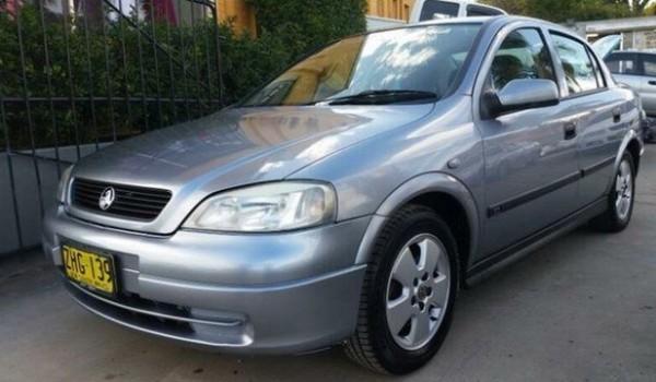 2004 Holden Astra TS CD Silver 4 Speed Automatic Sedan