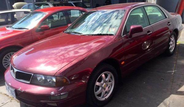 1996 Mitsubishi Verada Sedan