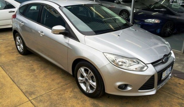 2012 Ford Focus LW MK2 Trend Silver 6 Speed Automatic Hatchback