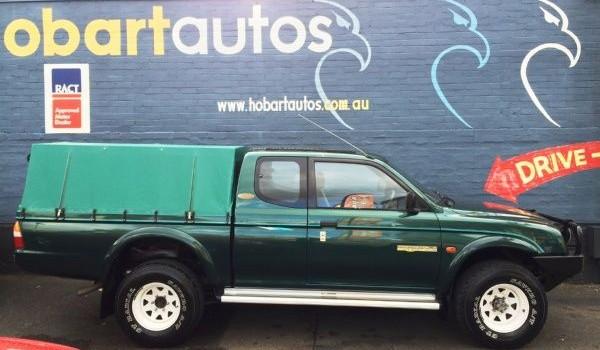 1997 Mitsubishi Triton Club Cab 4×4 Utility