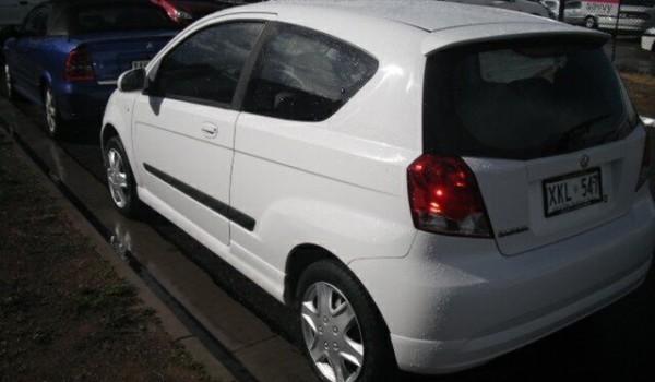 2006 Holden Barina TK White 5 Speed Manual Hatchback