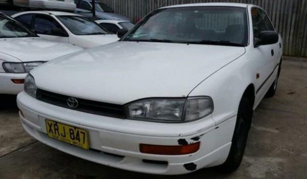 1994 Toyota Camry SDV10 CSi White 4 Speed Automatic Sedan