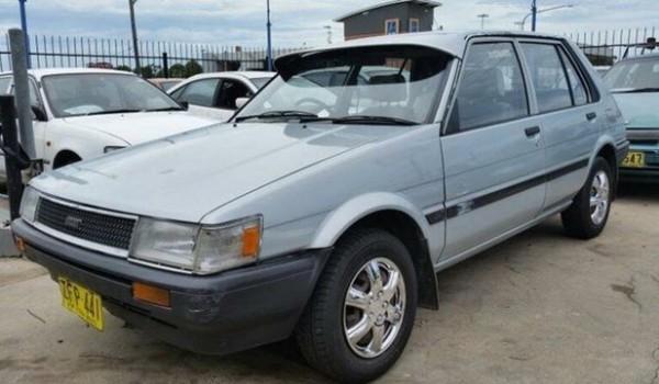 1987 Toyota Corolla AE80 CS Silver 3 Speed Automatic Hatchback