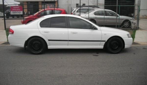 2003 Ford Falcon BA XT White 4 Speed Auto Seq Sportshift Sedan