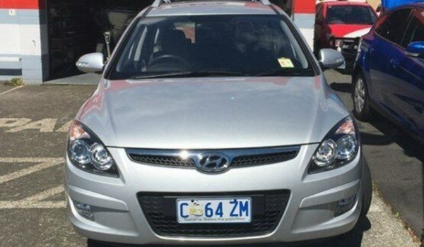 2012 Hyundai i30 Silver Automatic Wagon