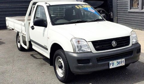 2004 HOLDEN RODEO FLAT TRAY 'TURBO DIESEL