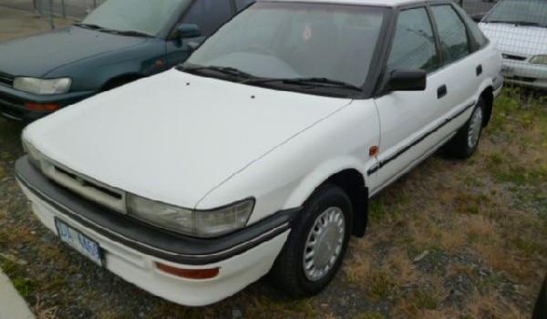 1992 Toyota Corolla CSi Seca Liftback.