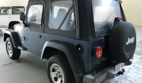 01 Jeep Wrangler SPORTS Auto with NO DEPOSIT FINANCE!