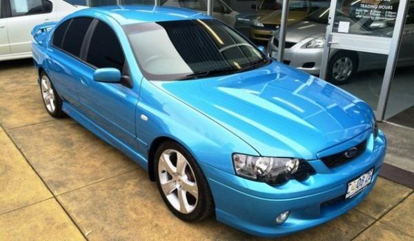 2005 Ford Falcon BA MkII XR8 Velocity Blue 4 Speed Auto Seq Sportshift Sedan