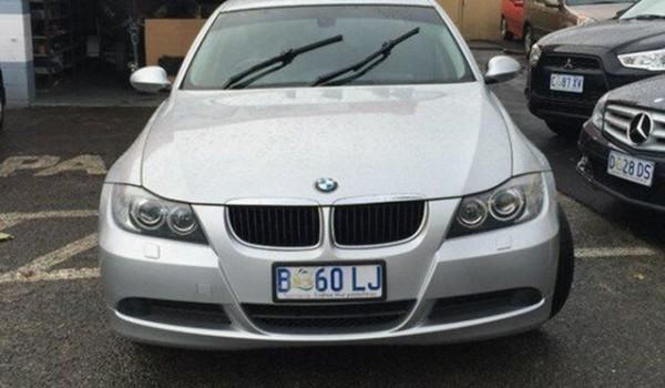 2008 BMW 320I E90 MY09 Executive Steptronic Silverstone 6 Speed Automatic Sedan