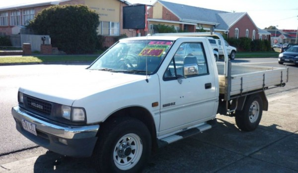 1998 Holden Rodeo Turbo diesel flat tray