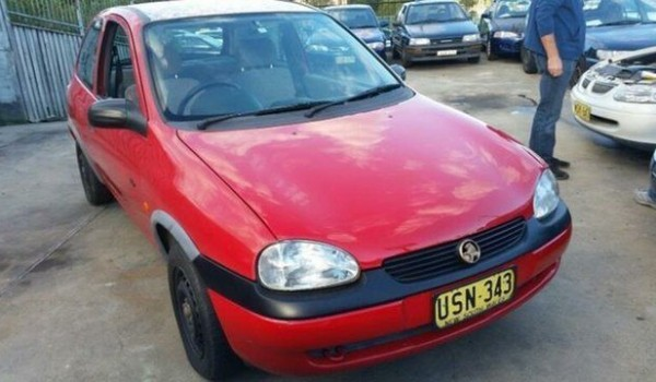 1997 Holden Barina SB City Red 5 Speed Manual Hatchback