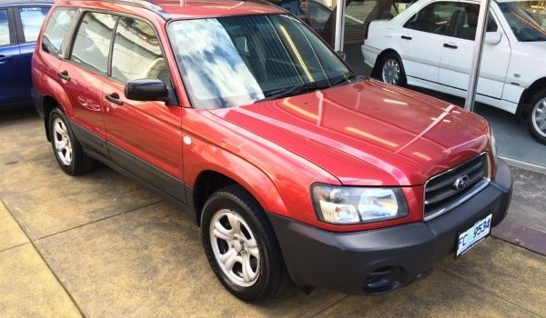 2003 Subaru Forester X 4×4 Wagon (MY2003)