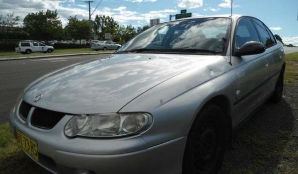 1994 Holden Apollo JM SLX White 4 Speed Automatic Sedan