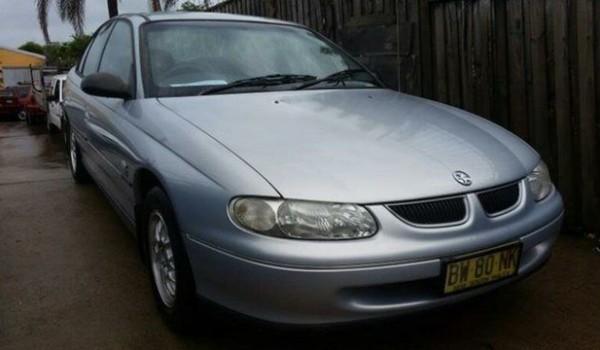 1999 Holden Commodore Vtii Executive Silver 4 Speed Automatic Sedan