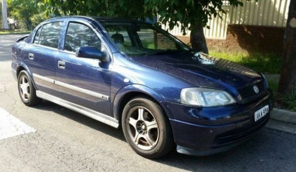2000 Holden Astra TS CD Blue 4 Speed Automatic Sedan
