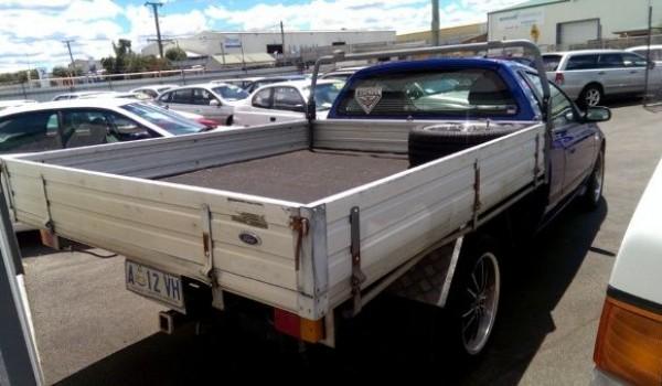 2003 Ford Falcon BA Tradesman XL Flat Tray