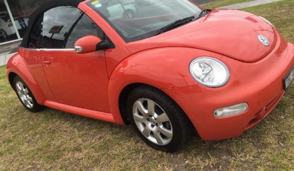 2003 Volkswagen Beetle Convertible