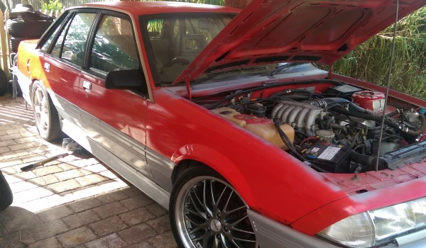 vl commodore with turbo gear, may swap